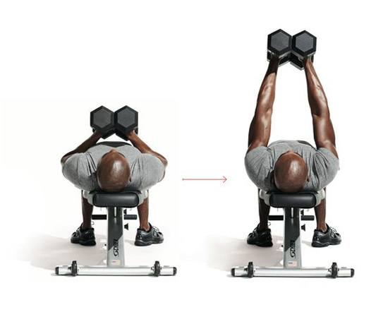 how to perform a dumbbell hex press for more chest growth